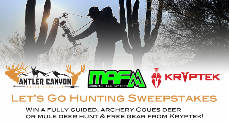 Win A Free, Guided Coues Deer Hunt and Kryptek Hunting Gear